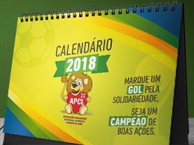 Calendário 2018 APCL