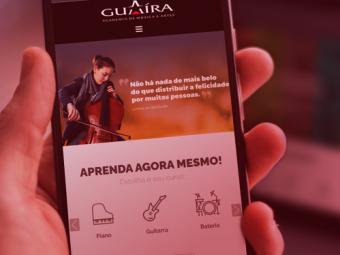 Novo Site Guaíra Música