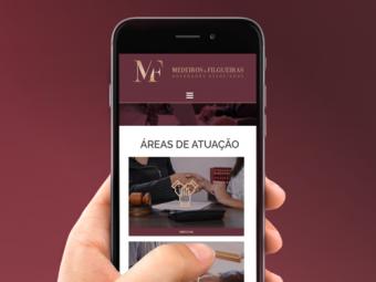 Website Medeiros e Filgueiras Advocacia